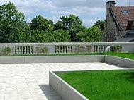 Sécurité-Jardin terrasse Hespérides de Caen
